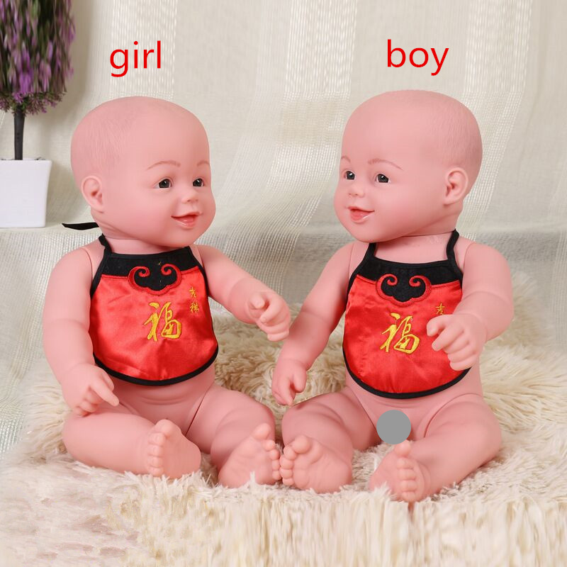 zizi fish lucky doll 45cm reborn baby doll soft vinyl silicone lifelike alive babies toys for
