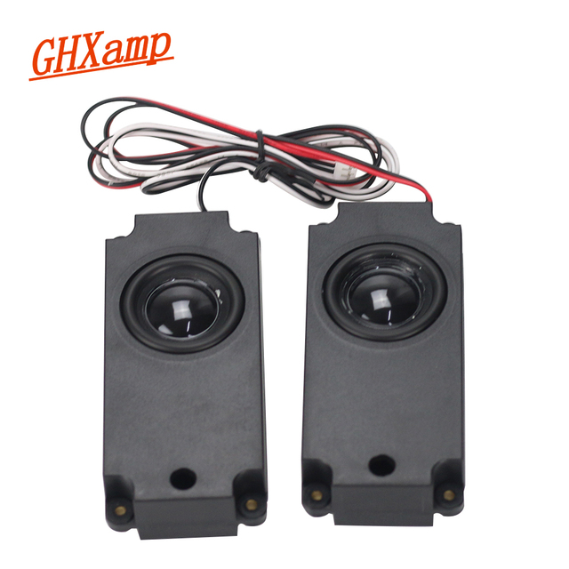 GHXAMP 2PCS 8ohm 5W High-end LCD TV Woofer Speakers advertising machine massage chair Loudspeakers sound box DIY