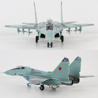 1/100 Scale MIG29 Russia Federation Soviet Union Air Force Fighter Aircraft Airplane Models Adult Children Toys for Display Show