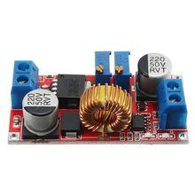 HOT-Lithium Battery Charger Module Board 5V-32V to 0.8V-30V 5A LED Driver Step Down Buck Converter Board Constant Current Volt