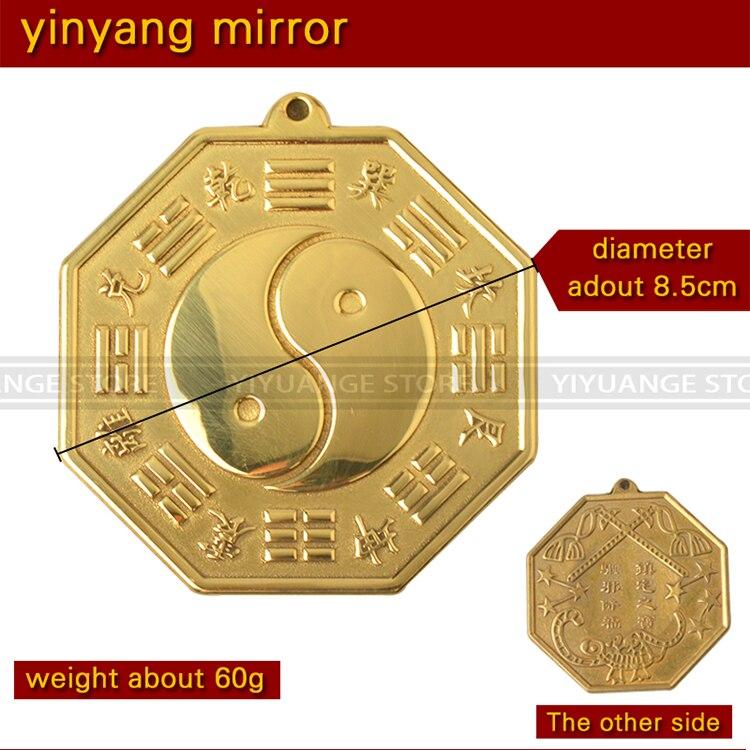Ba Gua Baguaspiegel Fengshui Yin Yang konkav Reichtum