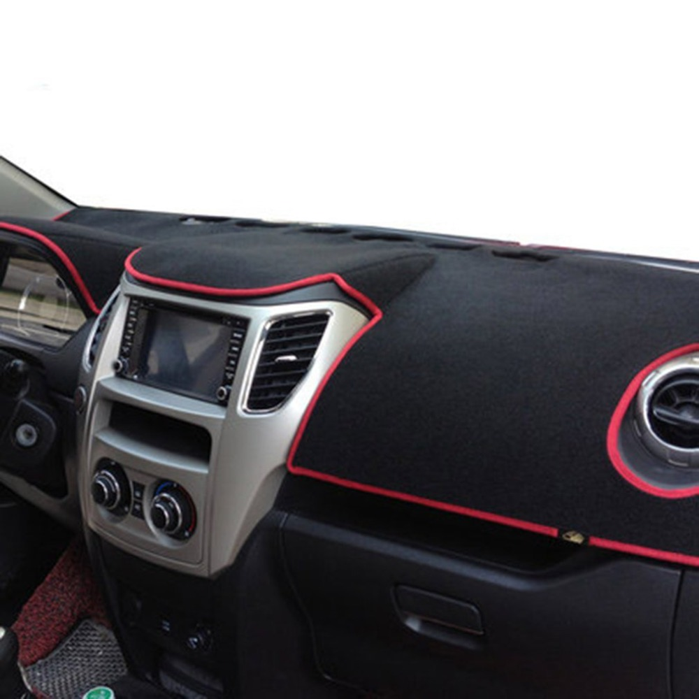 Dark Mat Car Dashboard Cover Car Light Pad Instrument Panel Sunscreen Automobile Instrument Panel Shading Pad For 2014 Vios