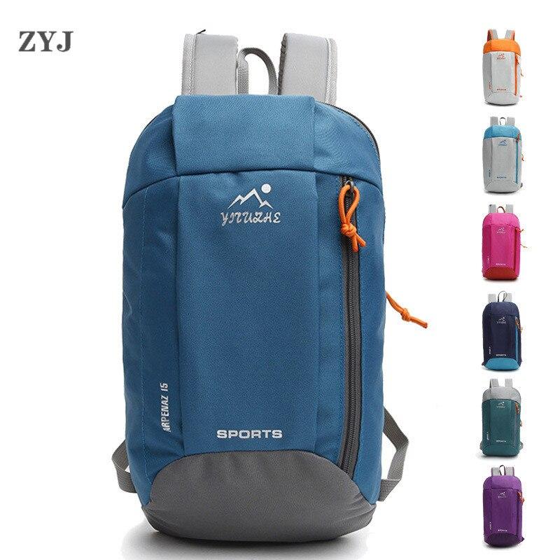 ZYJ Men Women Sport Cycling Small Backpacks Casual Hiking Cycling Light Weight Travel Kids School Backpack Daypack Mochila Bag
