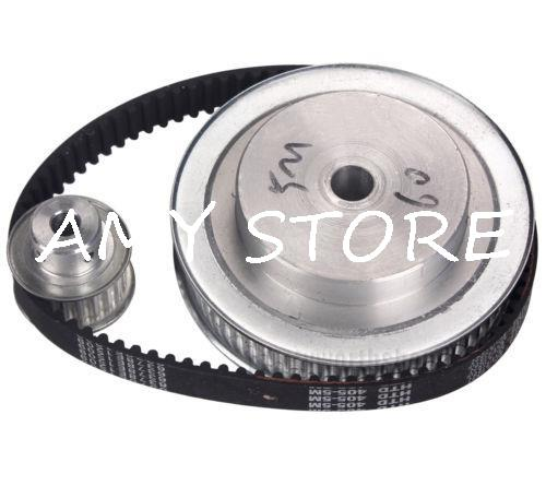 CNC Engraving Machine Accessory 5M Timing Pulley 60 Teeth 20 Teeth 5M-405 Belt Set Kit Reducer Ratio 3:1 agriculture machine accessory china cnc machine accessory