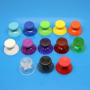 Image 2 - 100pcs 14 สีที่มีสีสัน 3D Analog Thumb Sticks สำหรับ XBOX One Controller Analogue Controller หมวกเห็ด