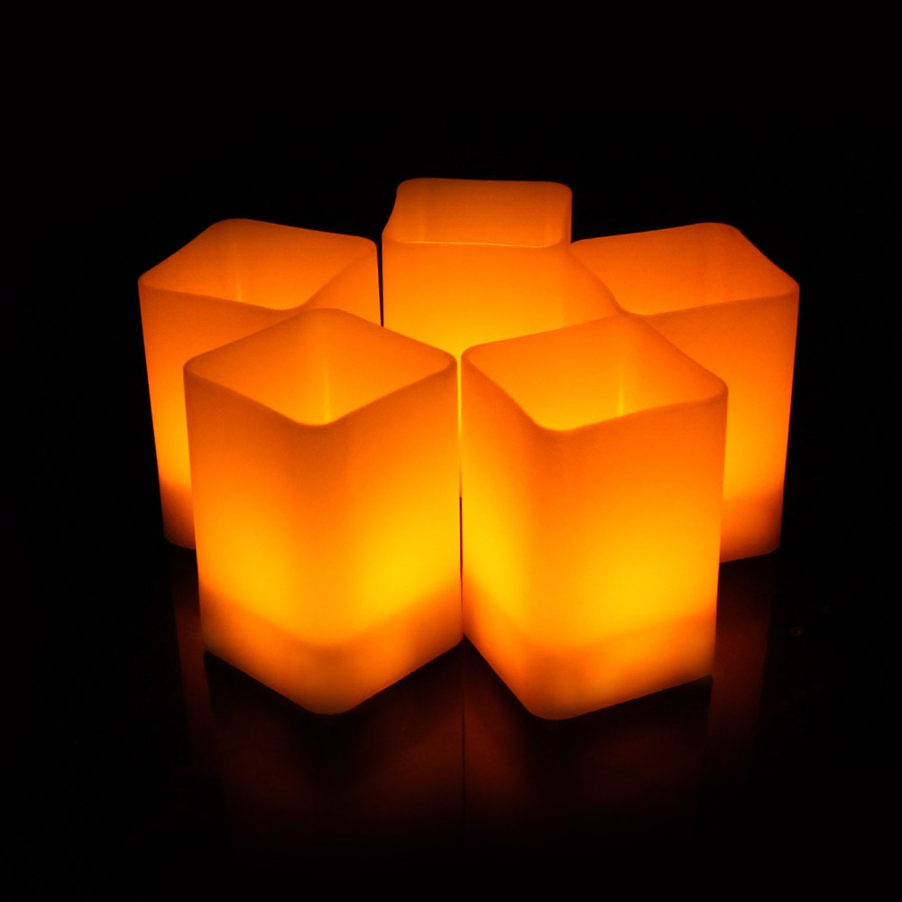 8920365855_1650456754  12pcs Flickering LED Candles Sq. Pillar Faux Candle Electrical Tealight for Residence Decor Wedding ceremony Events HTB14GCrtTXYBeNkHFrdq6AiuVXad