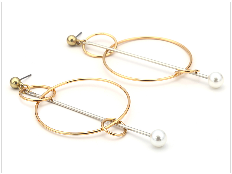 Circle Earrings (2)