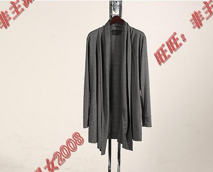 Automne Long Noir Clother Et La Xxxxl Hommes D'hiver Plus 2016 gris Manteau Costumes S Sweat Gilet Hot Taille Moyen 5Tn1z