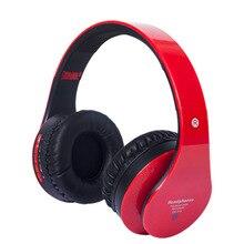 Bluetooth наушники над ухом Hi-Fi стерео Беспроводная гарнитура складная Мягкая память-наушники встроенный микрофон и проводной режим