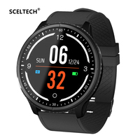 SCELTECH P69 Smart Watch Multi Sport Mode Heart Rate Blood Pressure Oxygen Calorie Sleep Monitoring Reminder Push Dial Wristband