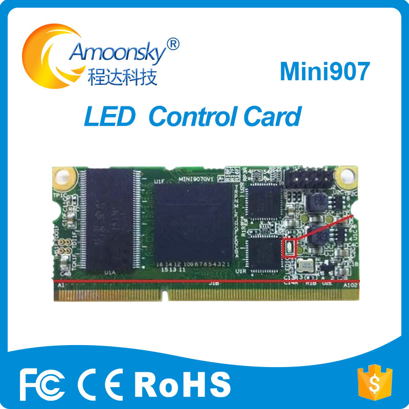 Linsn Mini907 Led Receiving Card Support Linsn Studio Control System 1/32 Scan For Full Color Led