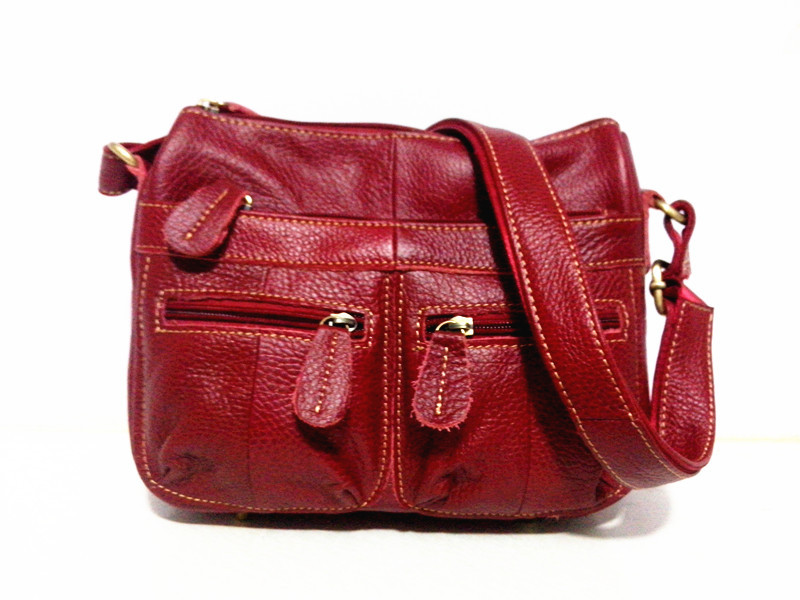 Guarantee 100% Genuine Leather Women's Messenger Vintage Shoulder Bag Female Cross-body Soft Casual Shopping Bags free shipping (6)