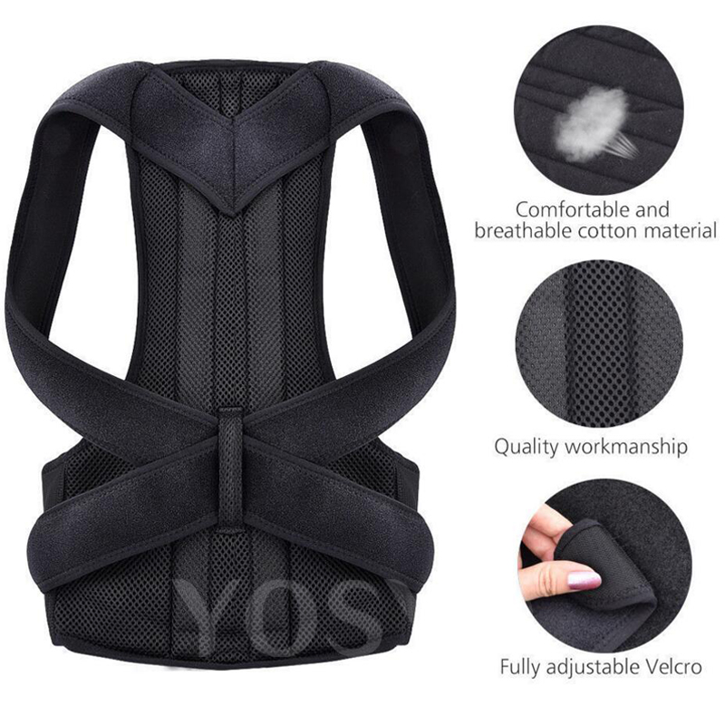 Posture Corrector for Men and Women Back Posture Brace Clavicle Support Stop Slouching and Hunching Adjustable Back Trainer 3