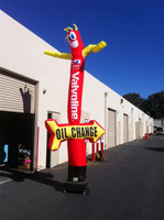 5M Arrow single Leg inflatable air dancer for Advertisement, Desktop Inflatable Tube Man costume for advertising