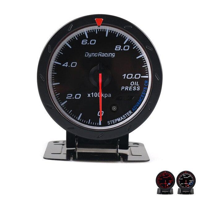 Dynoracing 60 мм гоночный автомобиль манометр масла 50--150C метр и освещение авто датчик давления масла TT101471
