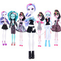 Новое Прибытие Handmade Корковых Одежда и Спортивная Мода Платье для Monster High Куклы и Для Barbie Doll & BJD Куклы