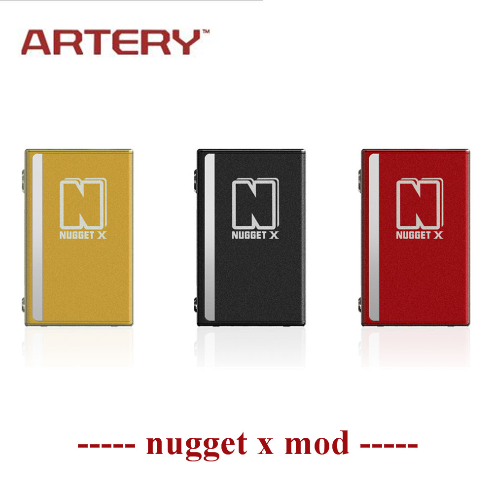 Artère nugget x mod mise à niveau Nugget V 2000 mah support intégré de la batterie Charge Rapide Extensible Firmware fit pour