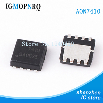 10PCS/lot AON7410 QFN AO7410 7410 New fast delivery image