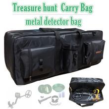 Profesjonalna torba zewnętrzna Advanture duża pojemna torba do przenoszenia wykrywaczy metali torba wykrywacz metali Professional tanie tanio shrxy Elektryczne Akumulator BLACK Metal Detector Carry Bag