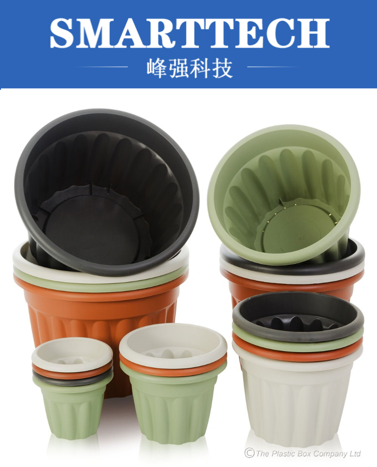 Good quality custom plastic flower pots injection mould for flowers Suppliers