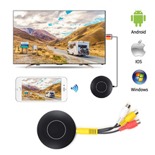 Q1 Wifi Screen Mirroring Push Display for Android Miracast Ios Airplay AnyCast W