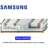Samsung памяти сервера 4 GB 8 GB 16 GB DDR3 PC3 1066 МГц 1333 МГц, 1600 МГц, 1866 МГц 8G 16G 10600R 12800R 14900R ECC REG 1600 1866 Оперативная память