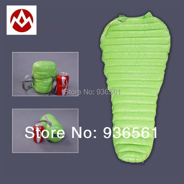Free Shipping Aegismax UL Wing Outdoor Ultralight Mummy Type White Goose Down Camping Spring And
