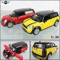 Бесплатная Доставка Большой Масштаб Моделирования Сплава Автомобиля Оптовая MINI COOPER 1:24 сплава модели звезды детские игрушки автомобиля подлинной 37400