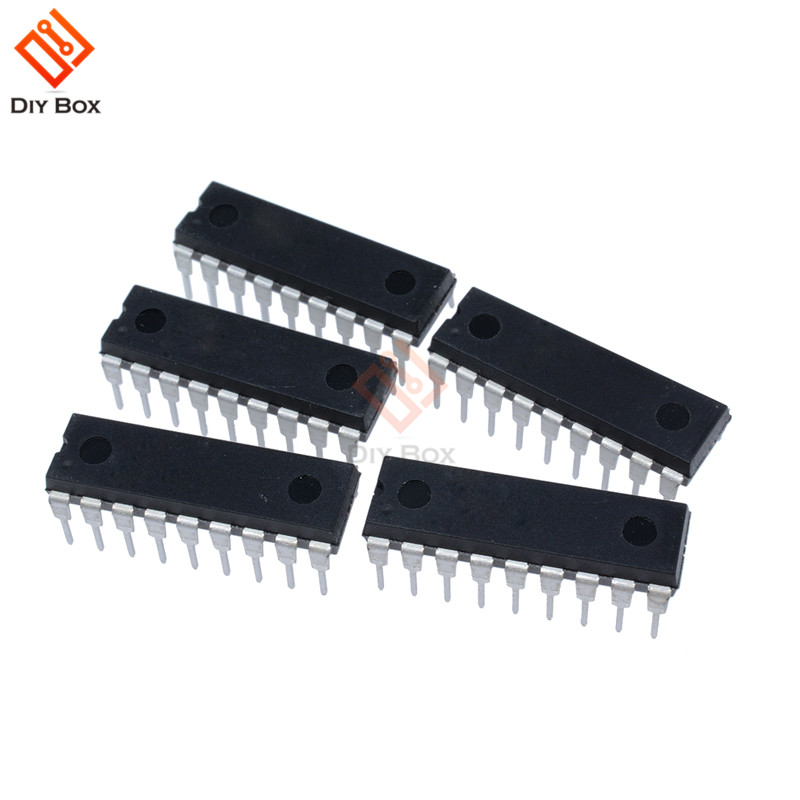 IC MICROCHIP DIP-18 PIC16F628A PIC16F628A-I/P Microcontroller Processor Low Voltage Low Speed Clock Mode