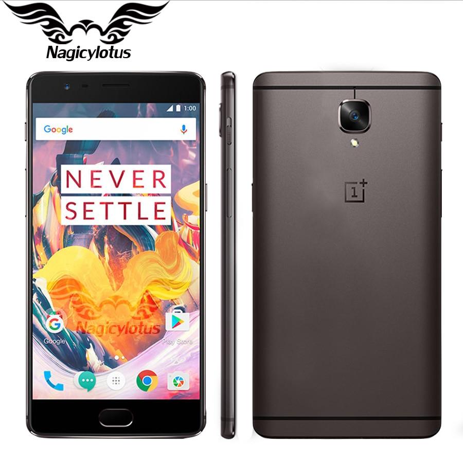 New Original OnePlus 3T EU Version Mobile Phone 6GB RAM 128GB ROM 5 5 Snapdragon 821