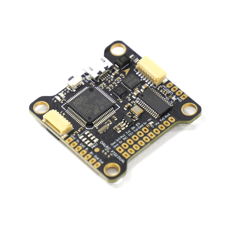 DALRC F722 DUAL STM32F722RGT6 F7 Flight Controller MPU6000 and ICM20602 Built-in OSD for RC Drone f722 f7 v1 upgrade version f4 flight control with osd barometer