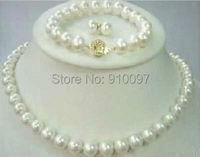 JEWE321q >>>8-9mm Akoya Cultured Pearl Necklace Bracelet & Earring set