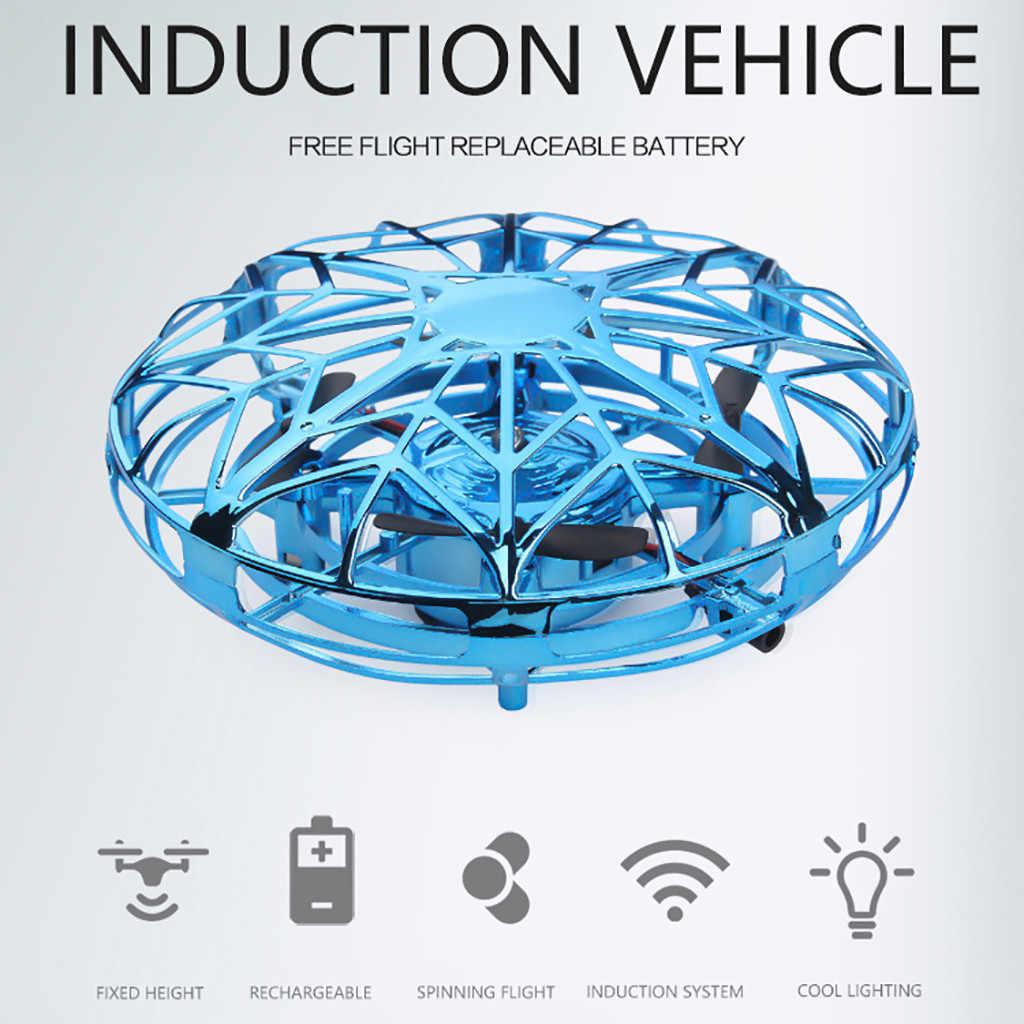 С ручным управлением летающий мяч интерактивный; ИК вертолет индукции летающая фея rc беспилотный летательный аппарат визуально drone 2019