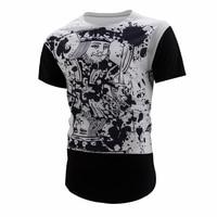 2017 New Summer 3D Poker T Shirt Playing Cards King Print 3D T Shirt Men Casual