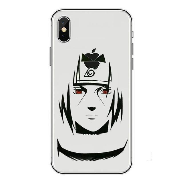 Naruto sasuke kakashi Soft silicone iPhone Case