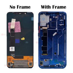 """Image 2 - Amoled ekran Xiaomi Mi8 LCD ekran dokunmatik ekran Digitizer Mi 8 lcd çerçeve ile 6.21 """"xiaomi mi 8 ekran yerine"""