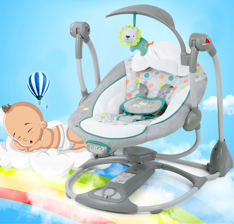 HTB14GGre8Cw3KVjSZFuq6AAOpXaX Free shipping Newborn Gift Multifunction Electric Music Swing Child Chair Baby Rocking Comfort Baby swinging chair  0-3Y