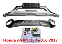 Bumper Protector Guard Skid Plate For Honda AVANCIER 2016 2017 Brand New European Style ABS Front