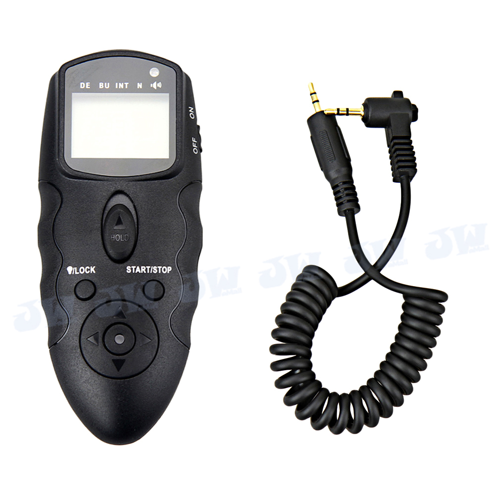 JJC Wireless MultiExposure LCD Timer Remote Control For Canon EOS T5i T4i T3i T3 T2i 70D 100D 700D 60Da 650D 600D 1100D 550D 60D jf032 2 3 5 lcd 4 mode electronic shock vibration remote control pet bark stop training collar set