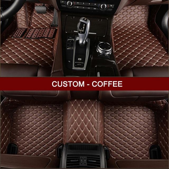 LUNDA car floor mats for Audi A6L R8 Q3 Q5 Q7 S4 S5 S8 RS TT Quattro A1 A2 A3 A4 A5 A6 A7 A8 car accessories Custom foot mats