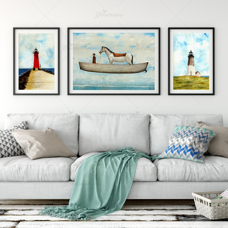Cheap Modern Wall Decor online get cheap lighthouse wall decor -aliexpress | alibaba group