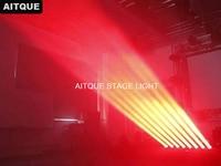 12lot Dj lighting led moving heads professional led sweeper 8x10w rgbw bar dmx moving 8eye moving bar price