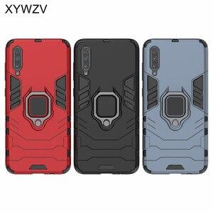 Image 5 - עבור סמסונג גלקסי A70 מקרה שריון להגן על מתכת אצבע טבעת מחזיק טלפון מקרה לסמסונג גלקסי A70 חזרה כיסוי עבור סמסונג A70