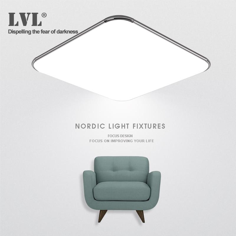 12 Вт светодиодный потолочный светильник ультра-тонкий современный Серебряный холодный белый супер яркий квадратный светильник для гостин...