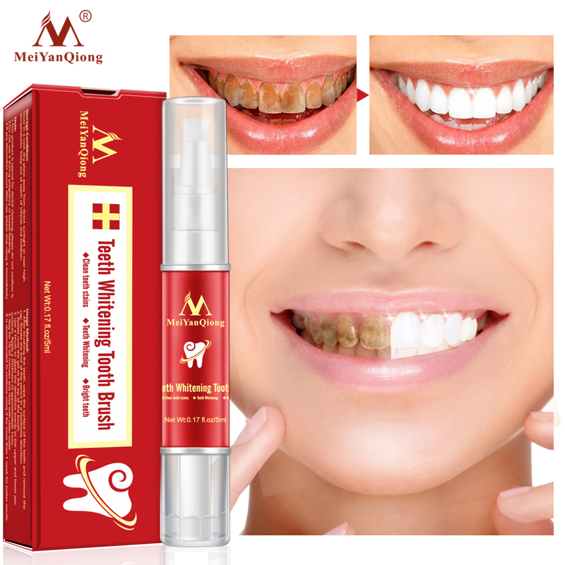 Teeth Whitening Tooth Brush Essence Oral Hygiene Cleaning Serum Removes Plaque Stains Tooth Bleaching Dental Tools Toothpaste(China)