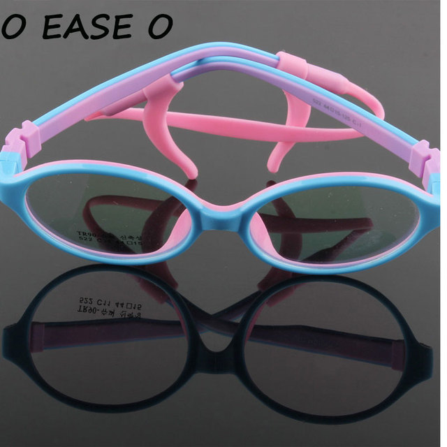 2cc27c1a3f 2017 Safe Kids Eyewear Children Eyeglasses Optical Frame Brand Design Cute  baby Student Healthy Non-toxic Glasses Frames 522