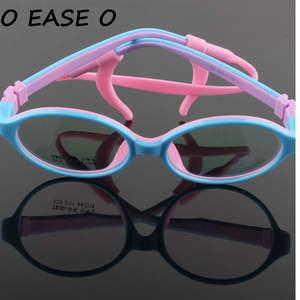 8b6ed0e110 2017 Safe Kids Eyewear Children Eyeglasses Optical Frame Brand Design Cute  baby Student Healthy Non-toxic Glasses Frames 522