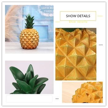Tirelire ananas détail