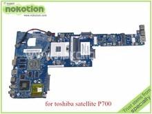PBQAA LA-7101P REV 1.0 MB K000123420 for toshiba satellite P700 P745 Laptop motherboard HM65 GeForce GT525M