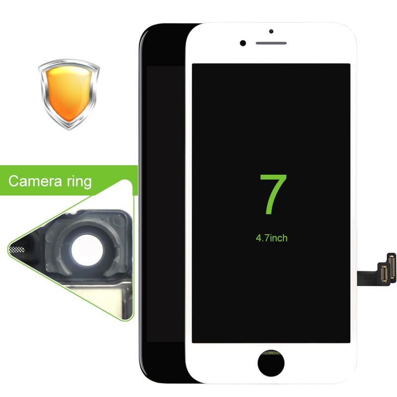 Prix pour 100% AAA Test Aucun Pixel Mort Pantalla Pour iPhone 7 Écran lcd Avec Écran Tactile Digitizer Assemblée Remplacement Livraison Dhl gratuite